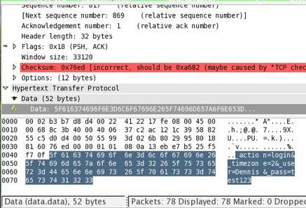 Wireshark_Roundcube_Passwort