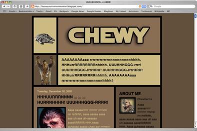 Chewbacca 1-19