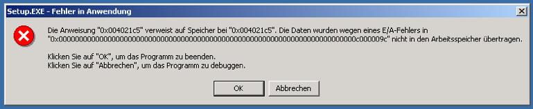 000000 Error