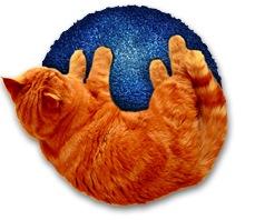 Firefox Logo Katze