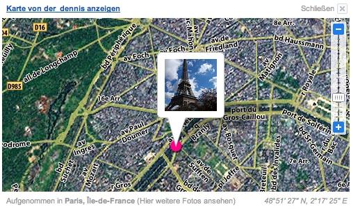 Karte Paris Eiffelturm.Paris Bilder Online Und Geotagged Instant Thinking De