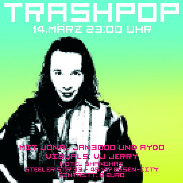 Trashpop Flyer