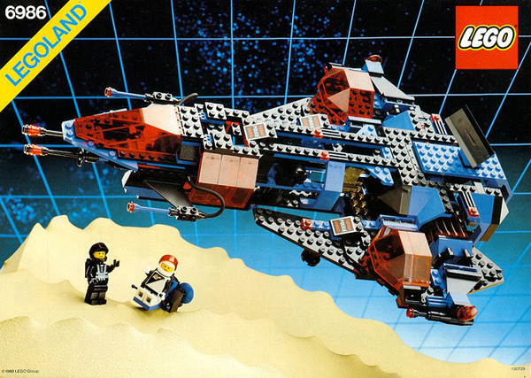 Lego Space Police Spuid Build