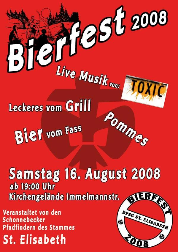 Bierfest 2008 Plakat