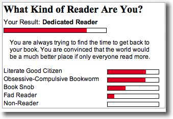 Reader Quiz