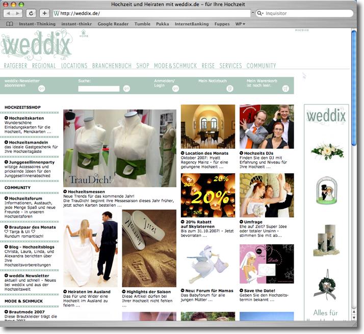 weddix.de Startseite